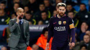 Pep Guardiola le dio la peor noticia al mundo azulgrana