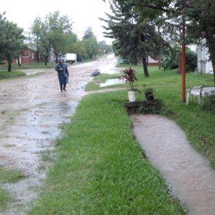 Cayeron 140 milímetros en Chajarí y se inundaron los Tribunales