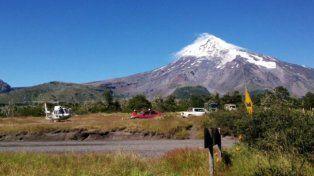 Alerta amarilla por temblor del volcán Lanín en Neuquén