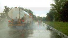 por las lluvias esta complicada la transitabilidad en la red caminera provincial