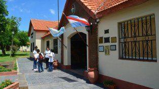 Trayectoria. La escuela Almafuerte funciona desde hace 55 años en la región.