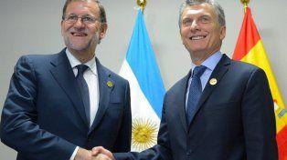 Macri llega mañana a España en visita de Estado.