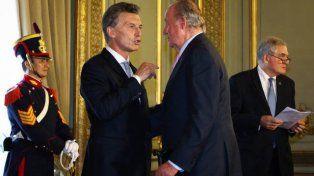 Macri mantendrá encuentros con los reyes, las autoridades del Parlamento español y con otros altos funcionarios españoles.