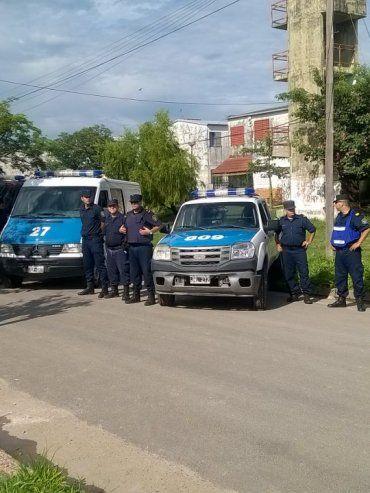Megaoperativo en Parnaná XVI luego de los tiroteos