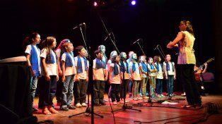 Actividad. Durante 2016, el coro llevó su música a diferentes espacios no convencionales.