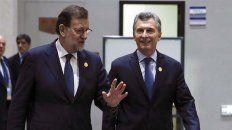 Mariano Rajoy y Mauricio Macri.