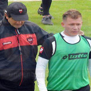 El Pitu junto a Rubén Forestello. ¿Se repetirá la imagen en la práctica de Patrón?