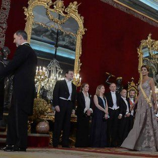 Macri le entregó al Rey de España la Orden del Libertador San Martín