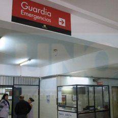 El pequeño fue trasladado al hospital San Roque, de Paraná.