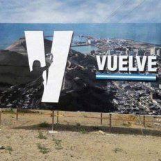 Propuesta. El cartel que dio que hablar en Comodoro Rivadavia.