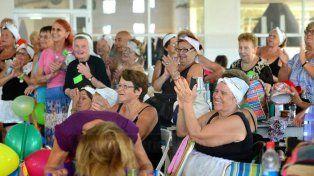 Contentas. Quienes participaron dieron cuenta de la atención recibida y las actividades realizadas.