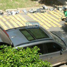 Secuestran gran cargamento de marihuana en el centro de Paraná
