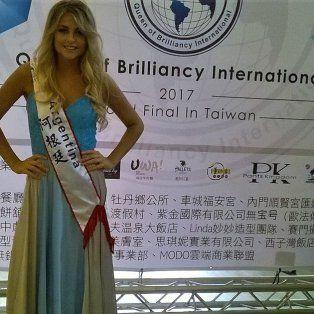 De Cerrito a Taiwán: La modelo Natalia Falconier deslumbró a uno de los cuatro Tigres Asiáticos