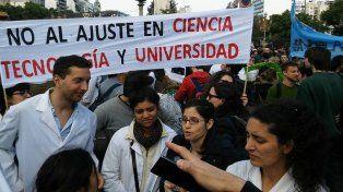 Científicos se movilizarán durante la apertura de sesiones ordinarias de Macri