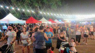 Gastronomía. La Feria en el Puerto Nuevo recibió a más de 4.500 asistentes.
