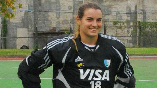 La jugadora de Paraná, Florencia Mutio, presente.