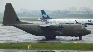 Publican foto de un avión británico que hizo escala en Porto Alegre rumbo a Malvinas