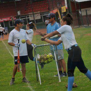 Ayer el combinado nacional estuvo entrenando en el Estadio.