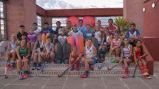 Ayer fue la presentación del año del deporte junto a autoridades y jugadores.