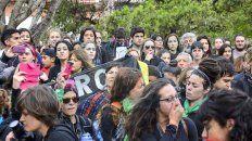 #8m: la concentracion en plaza 1° de mayo no se suspende por lluvia