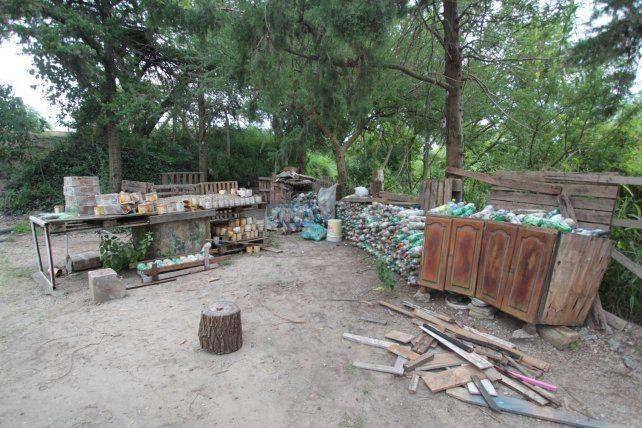 El sector de reciclado. FotoUNOJuan Ignacio Pereira.