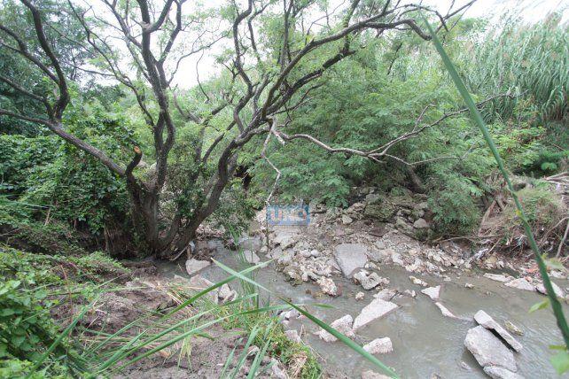 El Salto de La Santiagueña. Foto UNO Juan Ignacio Pereira.