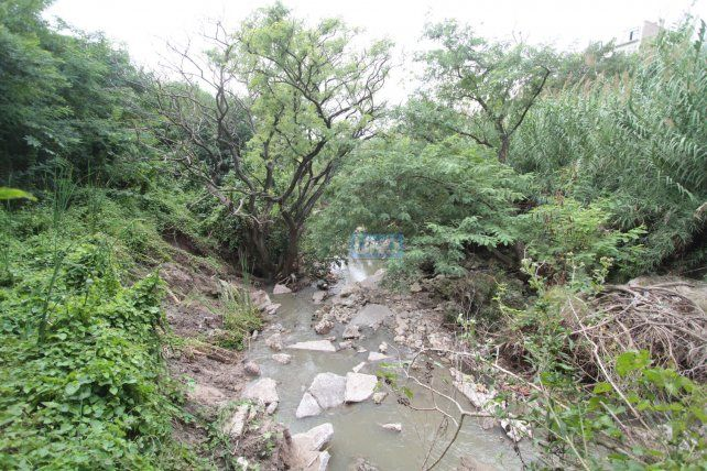 Una postal que se puede encontrar en todos los arroyos de Paraná. Foto UNO Juan Ignacio Pereira.