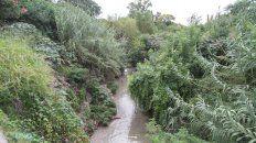 La belleza natural que rodea al arroyo La Santiagueña. Foto UNO Juan Ignacio Pereira.