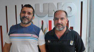 Adrián Giupponi y Pedro Álvarez confían en que el combinado de la UER hará un buen papel.