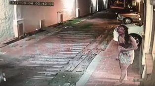 Las impactantes imágenes de un caso de violencia de género que conmociona a Santiago del Estero