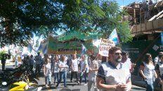 la marcha docente entrerriana en fotos