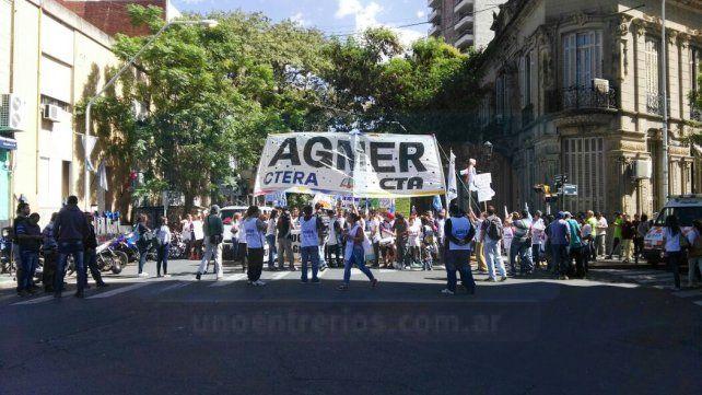 Agmer convocó a un acto para el martes de cara a la Marcha Federal Educativa