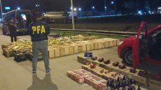 secuestraron un contrabando de mercaderia valuada en 80.000 pesos