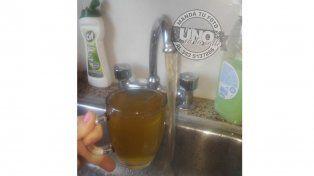 Tomate un vasito de agua corriente en Colonia Avellaneda