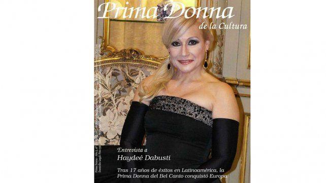 Invitan a una noche de ópera con Haydeé Dabusti en la Verdiana