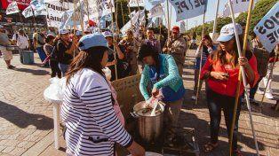 Los movimientos sociales ganan las calles de Capital Federal