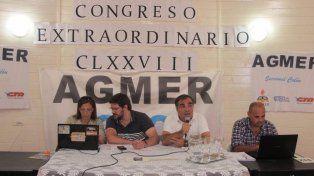 Agmer resolvió acompañar los paros de Ctera y la CTA