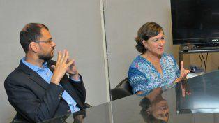 Juicio político. Rotman y Bargagna criticaron la postura silenciosa.