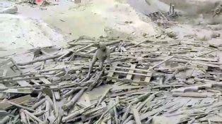 Las imágenes del trágico temporal en Perú