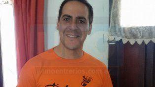 Referente. Uno de los impulsores del deporte en Paraná es Pablo Pérez
