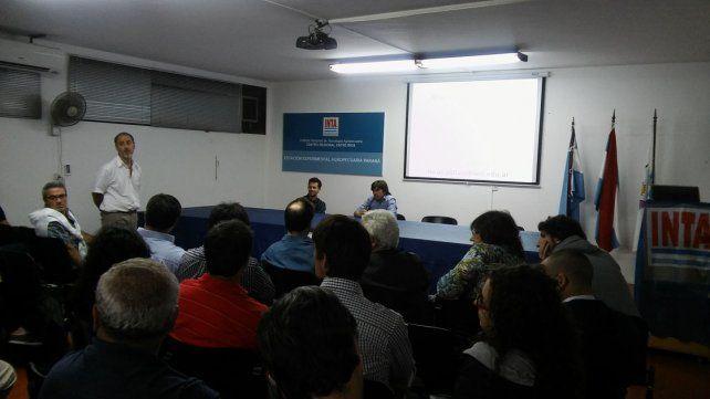 Se desarrolló una jornada de intercambio técnico en el INTA Paraná