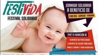 Programan festival solidario en el marco de la celebración del Día del Niño por Nacer