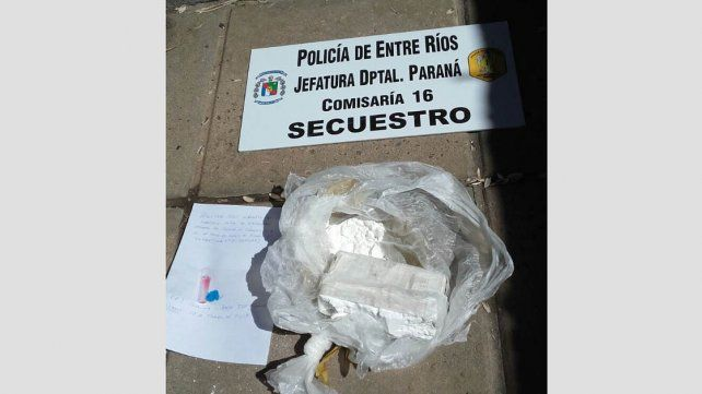 Detienen a un hombre en el barrio Paraná XII por posesión de cocaína