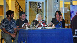 Hebe de Bonafini dió una charla en Paraná