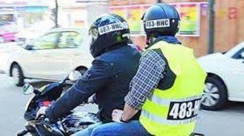 Los grandes chorros no andan en moto