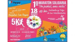 Llegó el día: hoy se realiza la Maratón Solidaria Un pañal, una vida