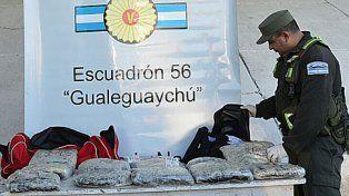 Secuestran 7 kilos de droga en al Autovía Artigas
