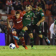 Independiente, en el debut de Holan, empató ante San Martín