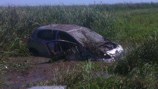 Ruta 12: Una mujer perdió la vida en un accidente de tránsito