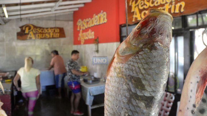 En esta época del año se consiguen muchos pescados. FotoUNOMateo Oviedo.